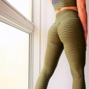 Abs2b Fitness Scrunch Leggings